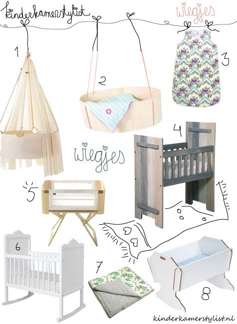 Wieg kinderkamerstylist - Idee voor babykamer ...