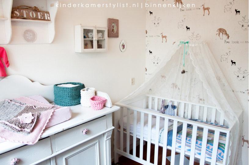 Slaapkamer Voor Baby.Babykamer Kinderkamerstylist