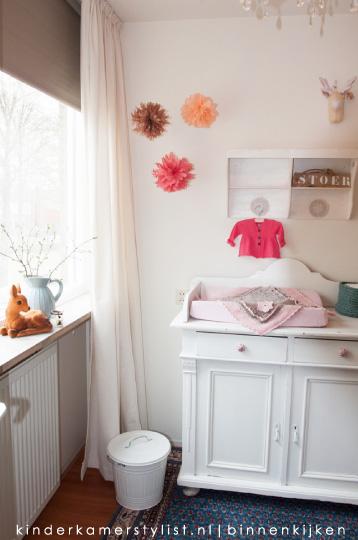 ook het houten bord en de pompoms zijn zelf gemaakt inspiratie via pompoms blog kinderkamerstylist wij ontvingen gisteren mail van amber dat ze inmiddels