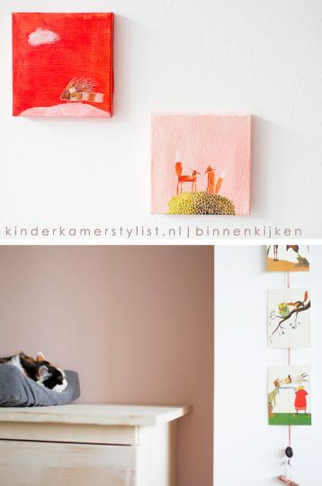 Gordijnen kinderkamerstylist - Kleur babykamer meisje ...