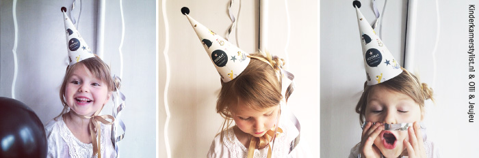 gratis download feestmuts kinderkamerstylist