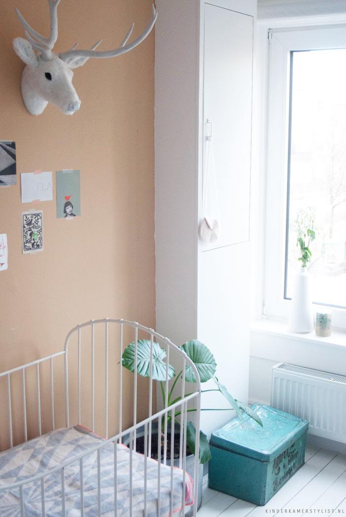 Baby kamer meisje restored marijke kinderkamerstylist for Foto slaapkamer baby meisje