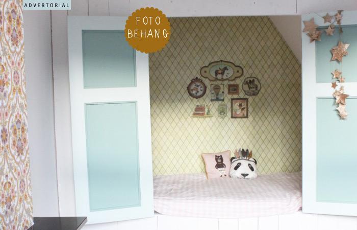 Kinderkamer Kinderkamer Wanddecoratie : Wanddecoratie fotobehang kinderkamer kinderkamerstylist