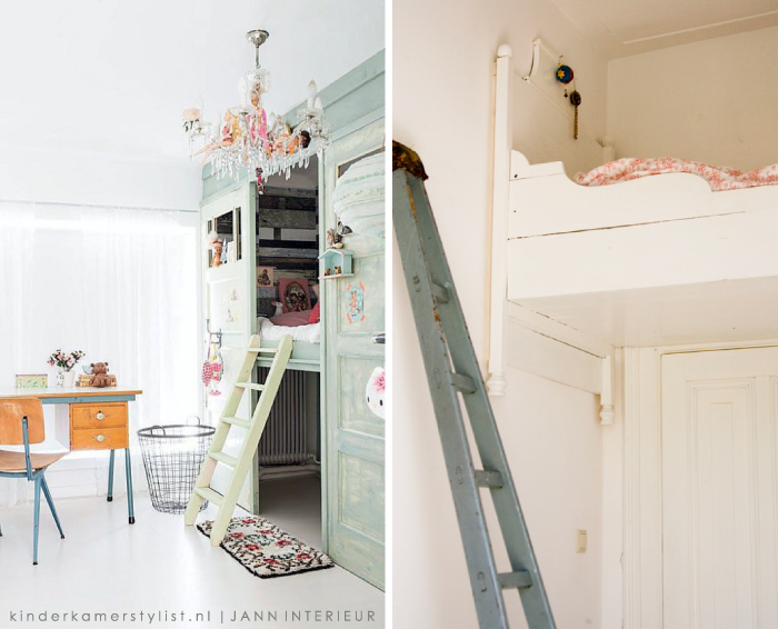 Hoogslaper kinderkamer kinderkamerstylist - Decoratie slaapkamer meisje jaar ...