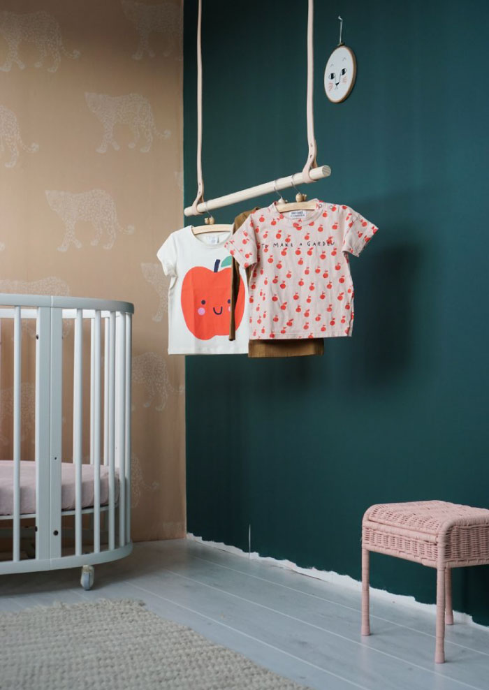 Babykamer jungle