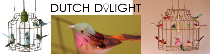 Hanglamp vogels Dutch Dilight