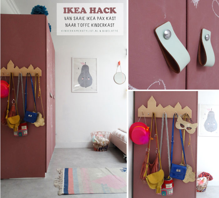 Ikea hack kinderkast