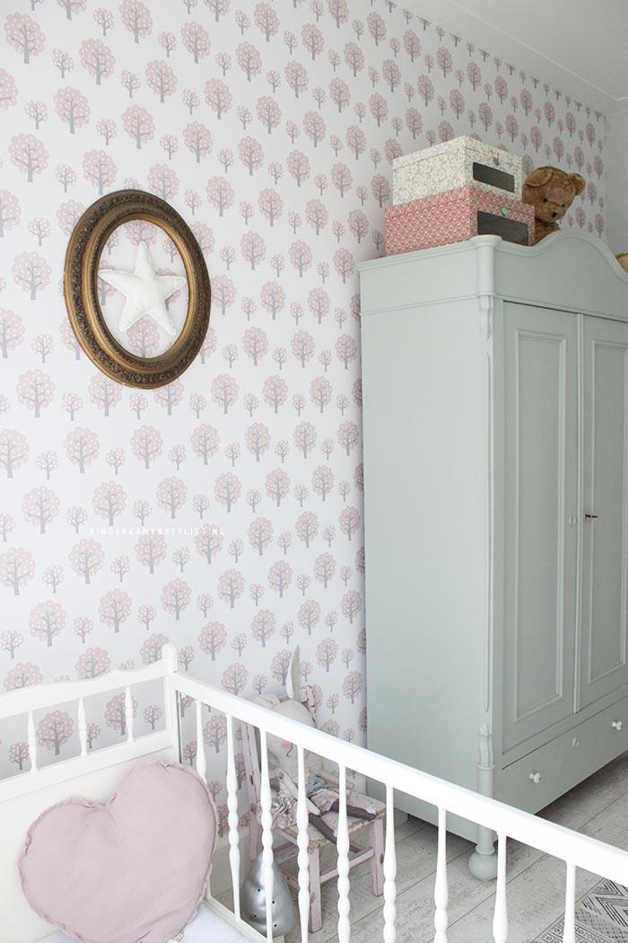 Werkwijze muurdecoratie kinderkamer