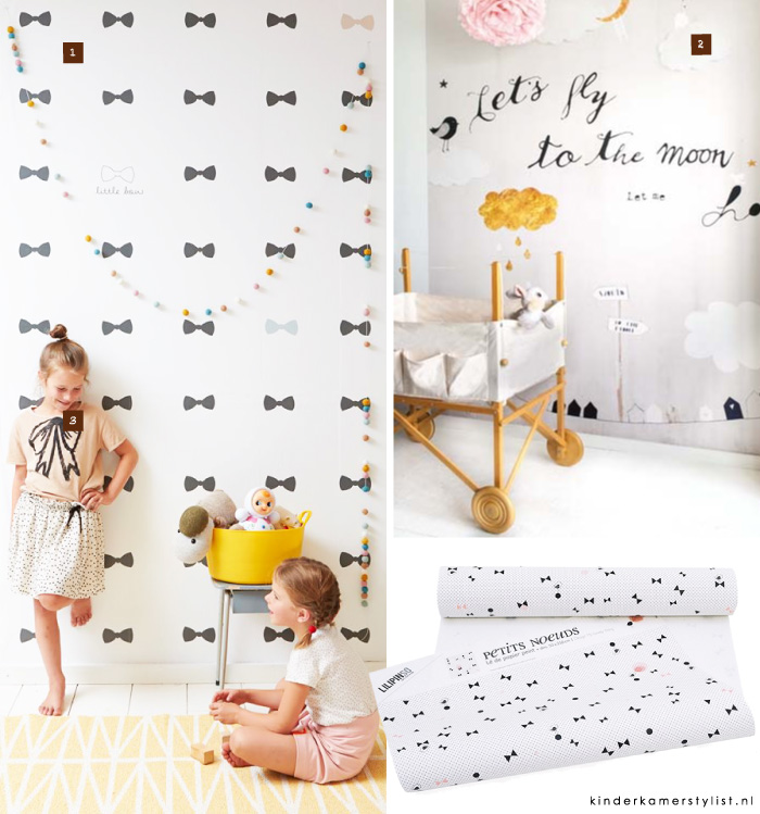 Behang  Kinderkamerstylist