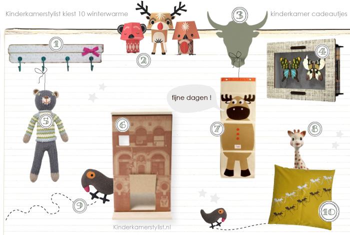Kinderkamer accessoires top 10 winter : Kinderkamerstylist