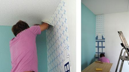 Kinderkamer behangen kinderkamerstylist - Tapijt idee voor volwassen kamer ...