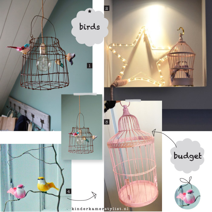 kinderkamer decoratie vogelkooi lamp 2. kinderkamer decoratie Sur ...