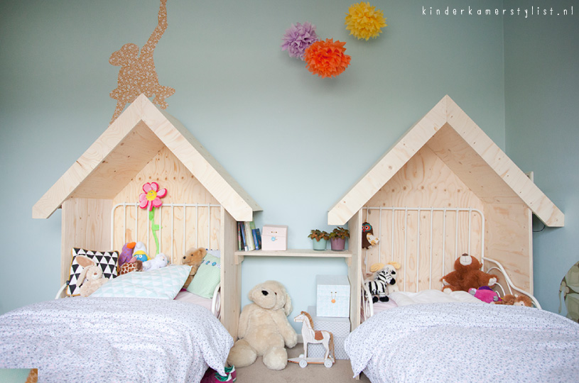 Kinderbed kinderkamerstylist for Meisje slaapkamer fotos