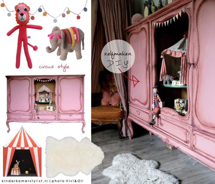 Behang kinderkamerstylist - Slaapkamer meisje jaar oud ...