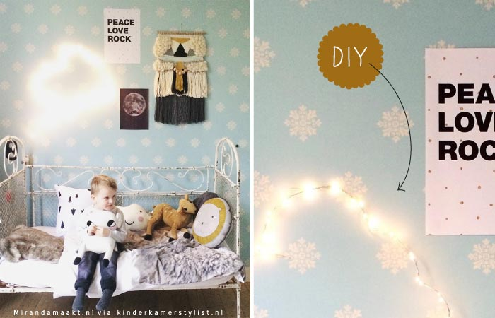 Kinderlamp maken diy lamp