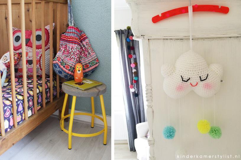 Kleurrijke babykamer s lkledenwinkel de allerleukste kinderkamer vloerkleden moodkids for Kleur kinderkamer