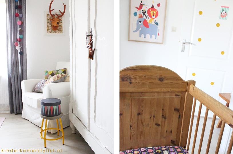 Leuke kleuren voor kinderkamer babykamer inspiratie voor het inrichten van jullie - Muur kleur babykamer meisje ...