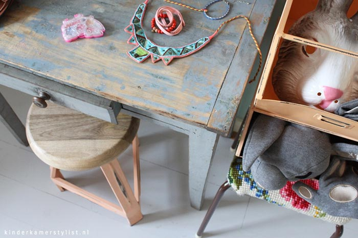 make-up tafel idee