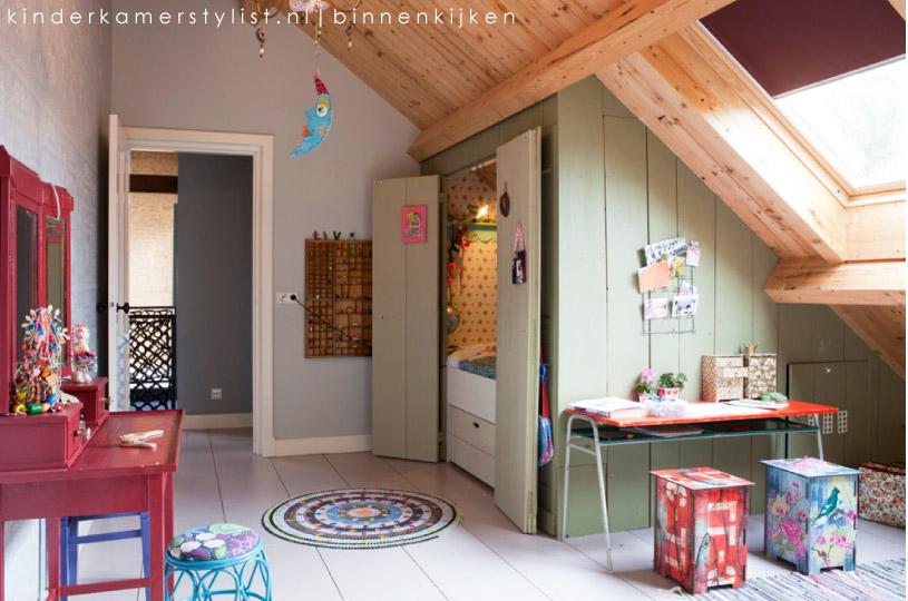 Stoere meiden slaapkamer finest kleurrijke kinderkamer with