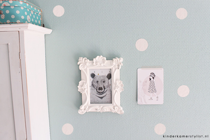 Muurstickers kinderkamerstylist for Muurdecoratie babykamer