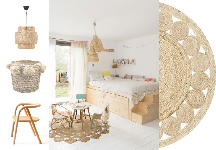 Naturel babykamer