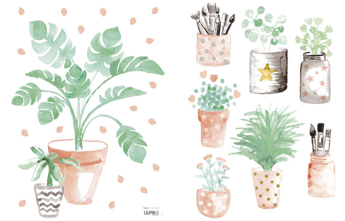 planten-muurstickers-in-de-kinderkamer