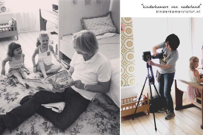 "the making of ""kinderkamers van Nederland"""